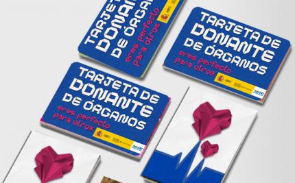 tarjeta de donante de órganos